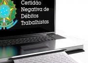 Certidão Negativa de Débitos Trabalhistas - empresa de contabilidade sp