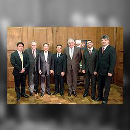 Alexandre Kita, Diretor da NK Contabilidade, participa da posse do ministro Afif Domingos