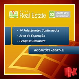 Retail  Real Estate – O primeiro evento brasileiro que discutirá o mercado de imóveis destinados ao varejo